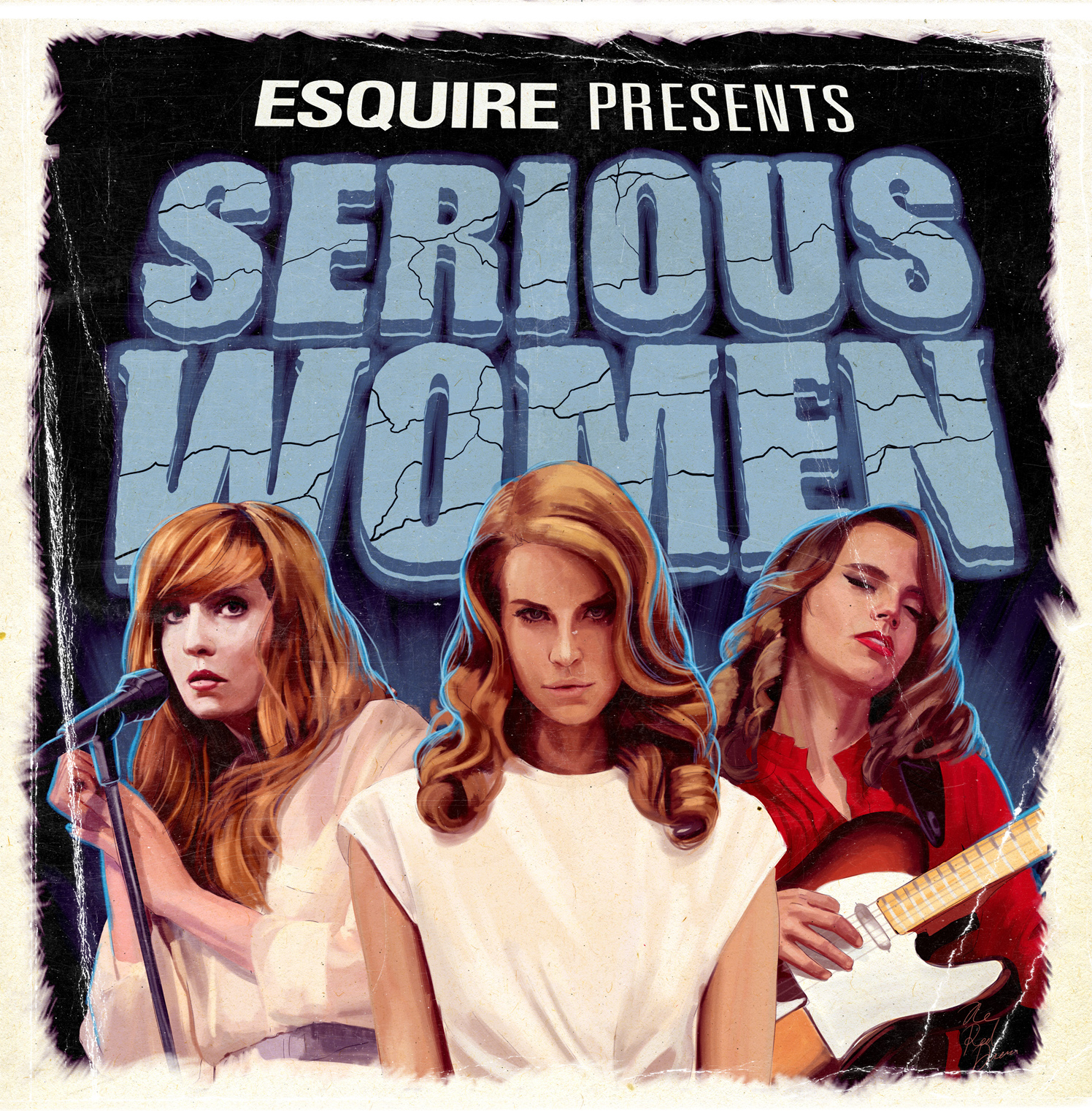 Esquire Presents Serious Women