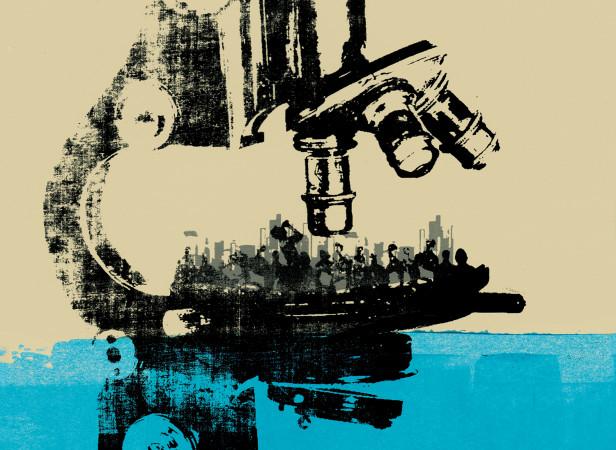 pi_magazine_insurance_the_watchers_watchmen_microscope_screenprint_katie_edwards_illustration.jpg