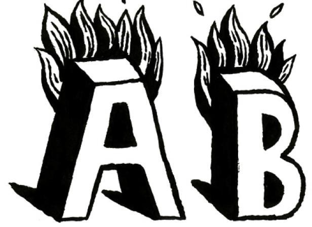 On Fire Alphabet