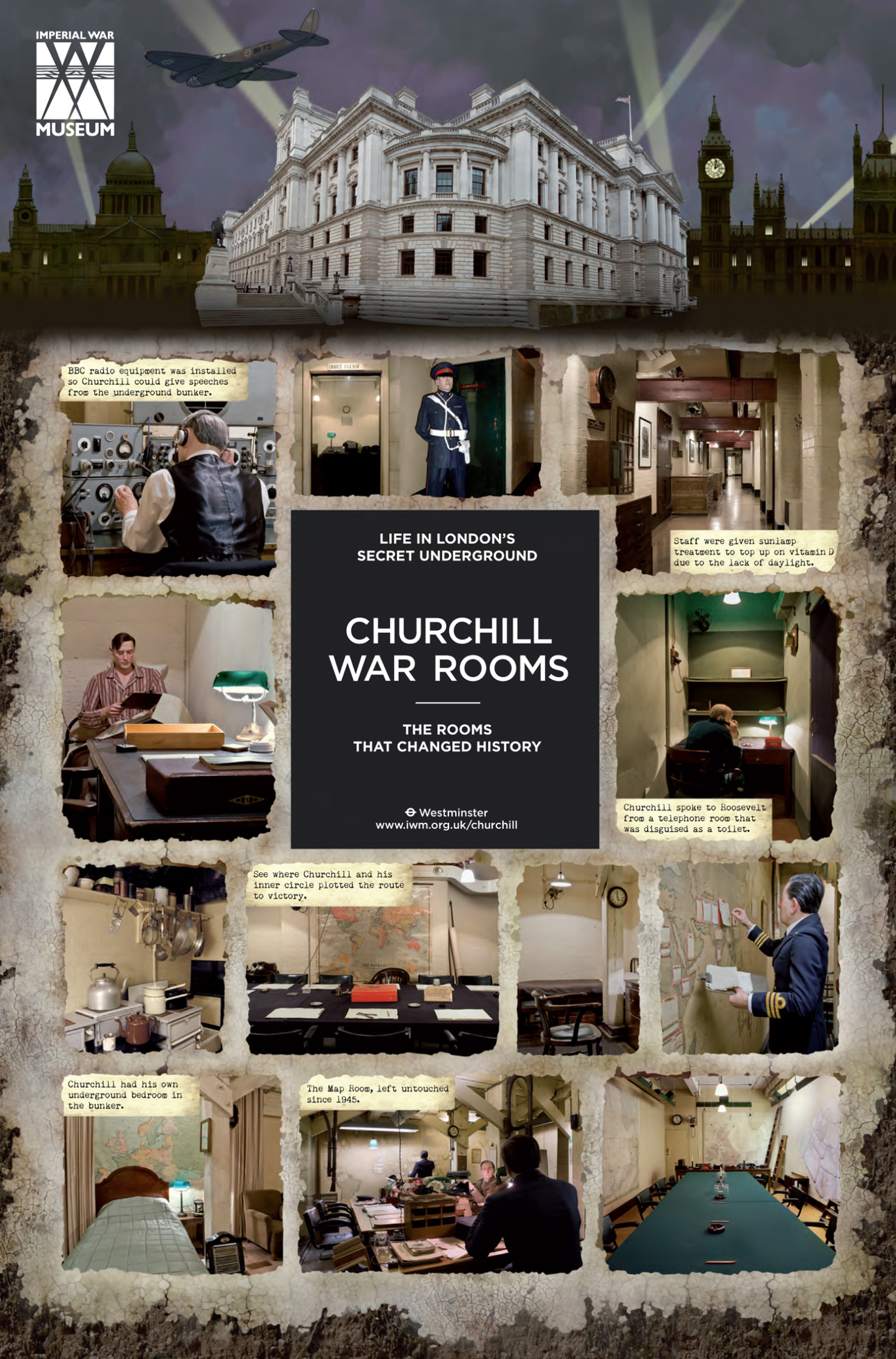 Churchill War Rooms / The Imperial War Museum