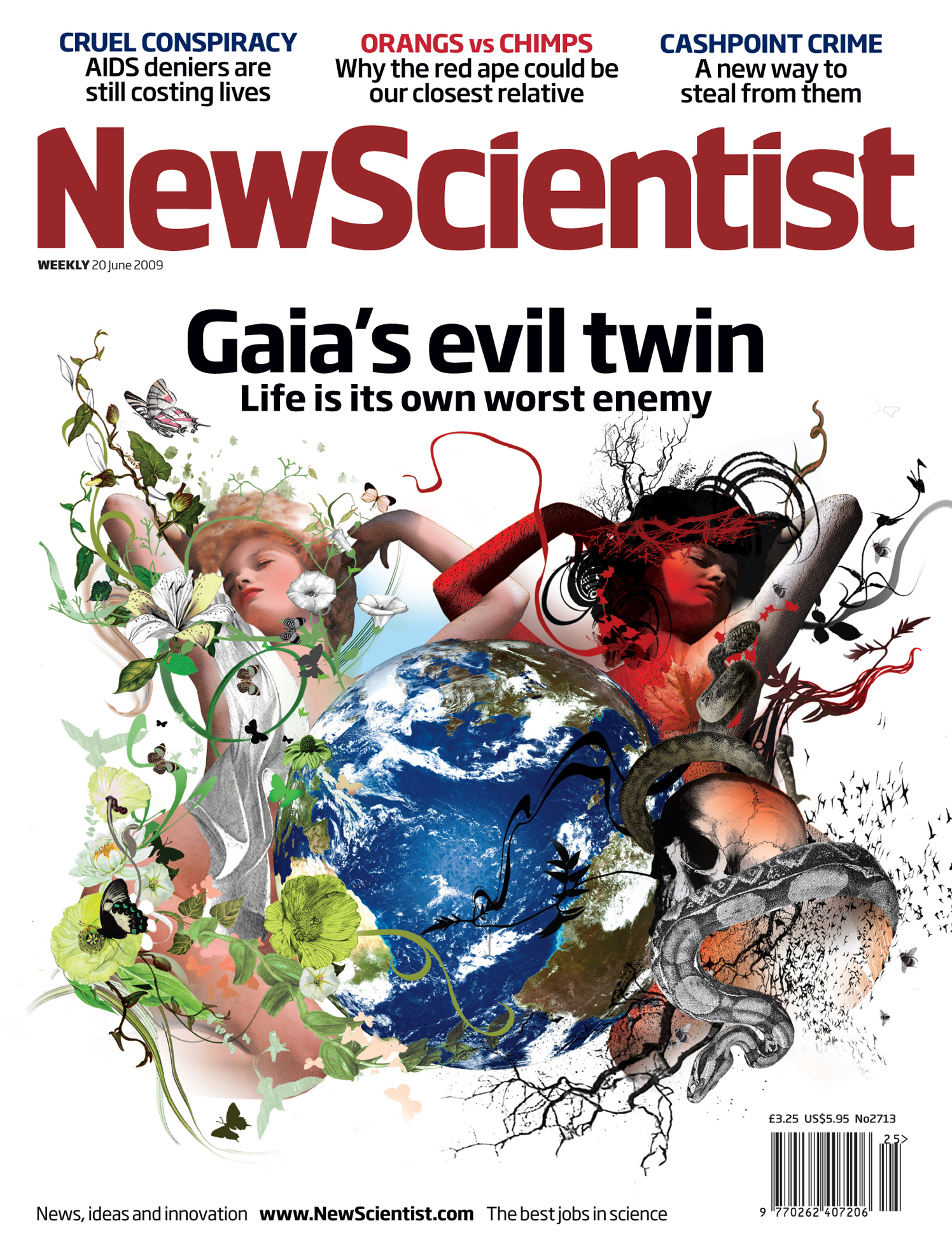 New Scientist Magazine / Gaia's Evil Twins