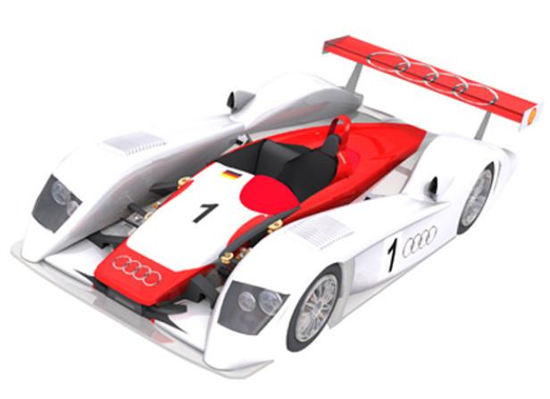 Audi Race Car