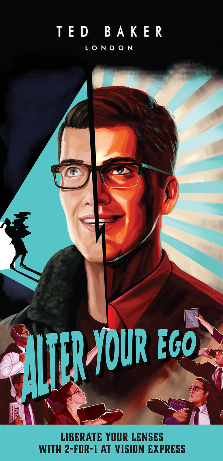 Alter Your Ego Man / Ted Baker
