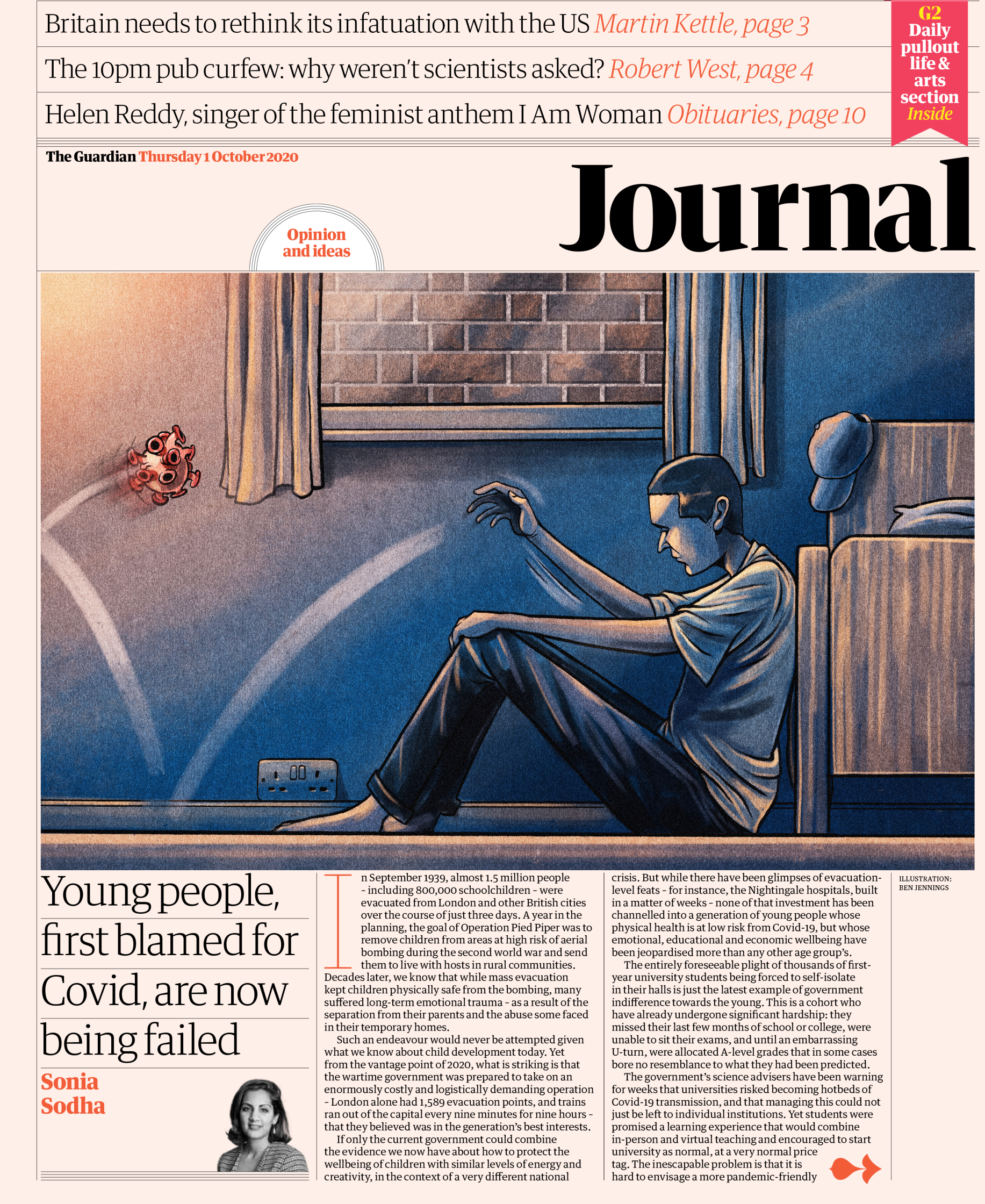The Guardian � Journal front � 1 October 2020.jpg