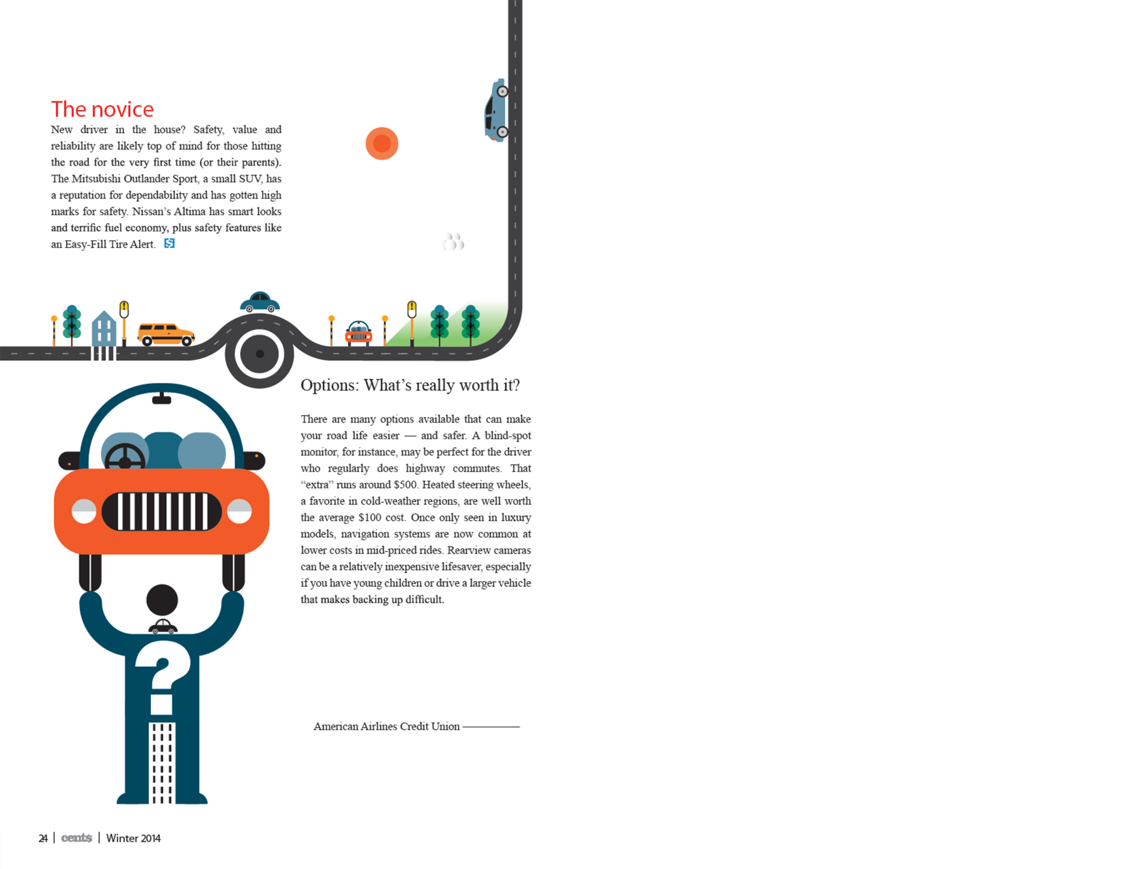 Car Feature 2 / American Airlines Credit Union Magazine