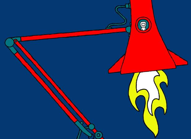 Anglepoise Rocket