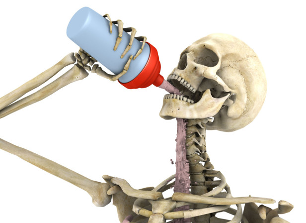 Skeleton Drink