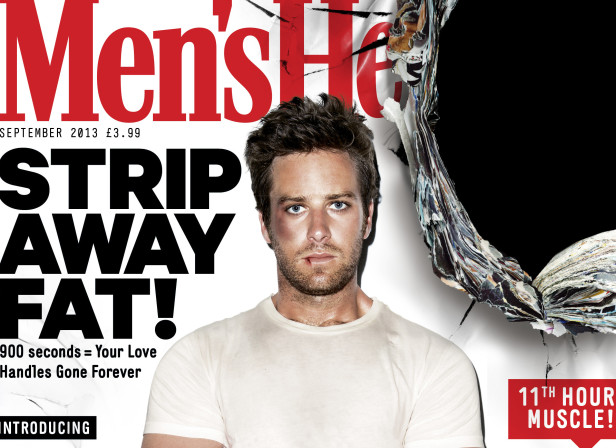 Armie Hammer / Men's Health Magazine Cover