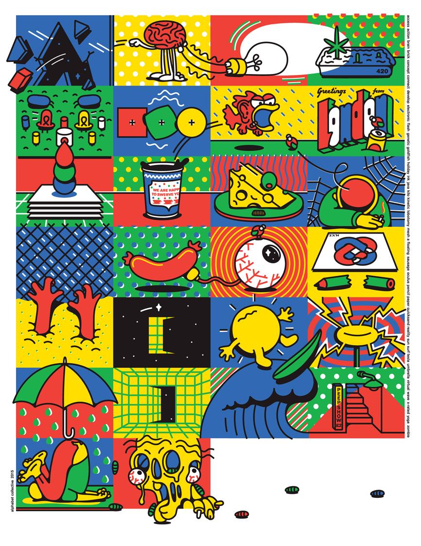 Alphabet Creative Poster