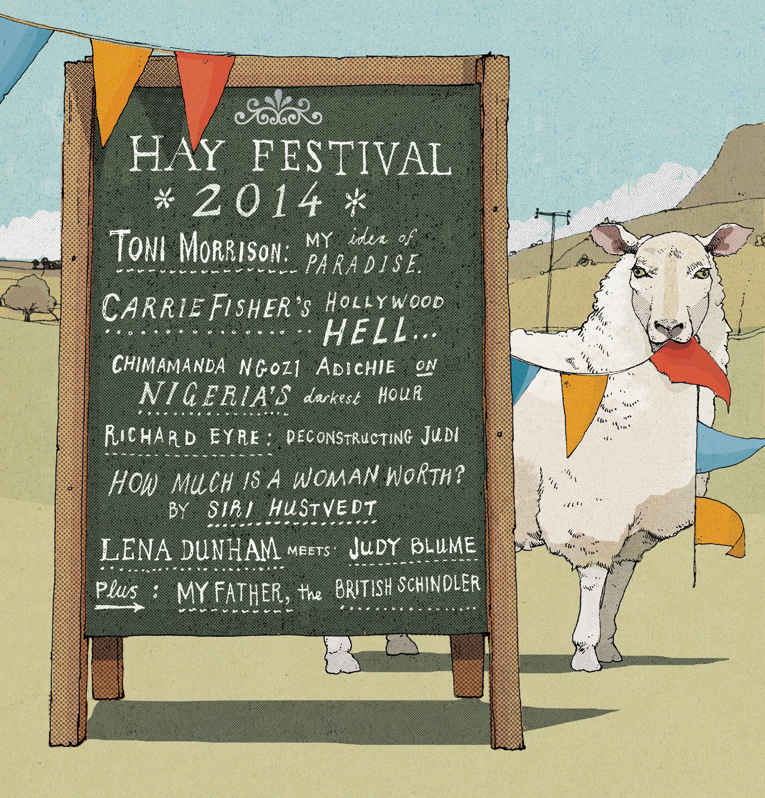 Hay Festival / The Telegraph