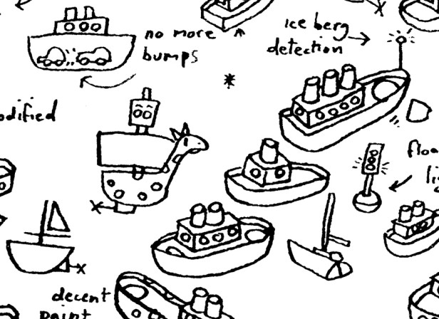 Brainstorm Hand Drawn Boats