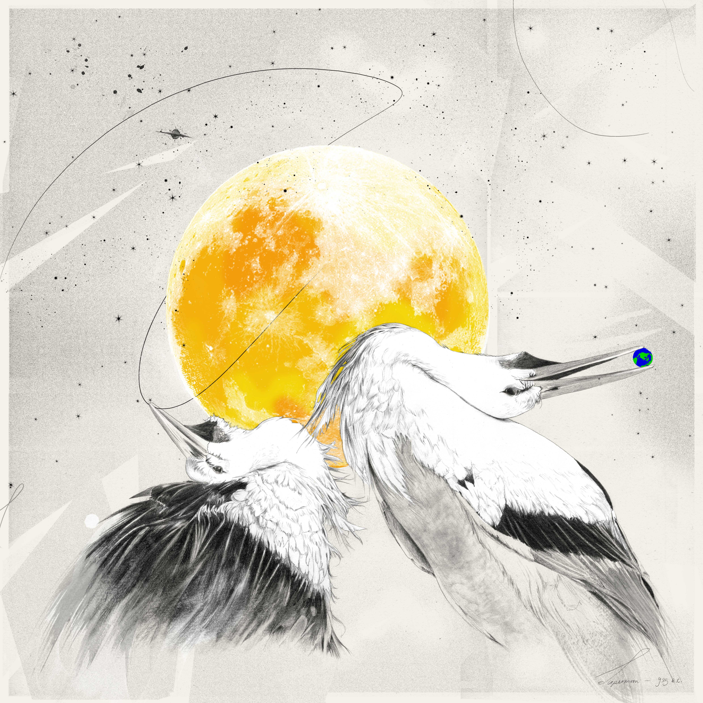 Lunar Tribes Supermoon