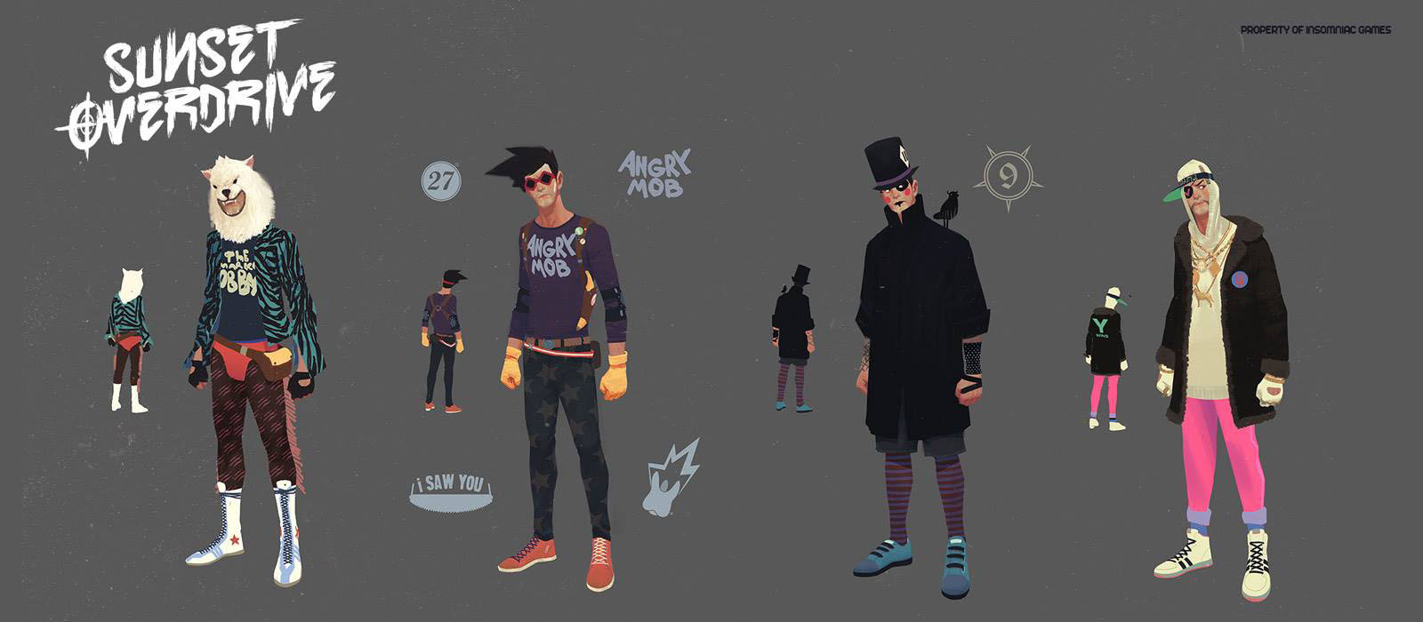 Sunset Overdrive Character Sheet 1