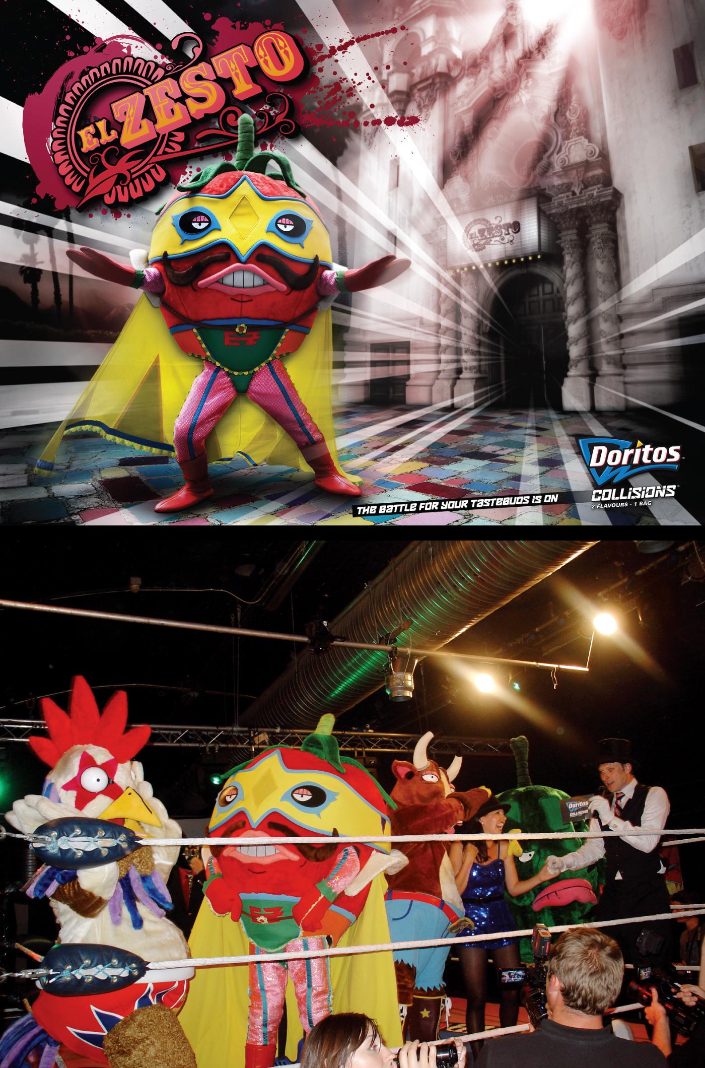 Doritos El Zesto Wrestling