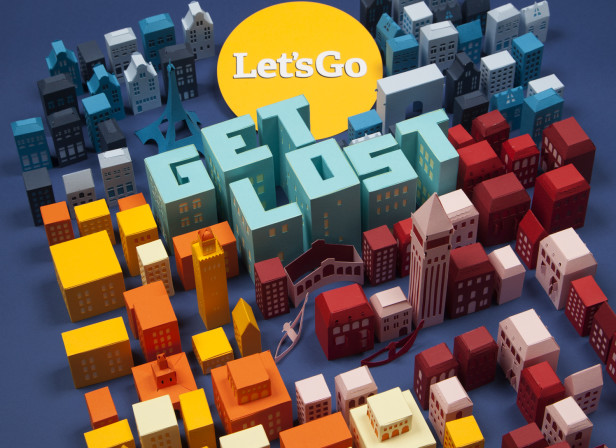 Get Lost / Ryan Air's Let's Go
