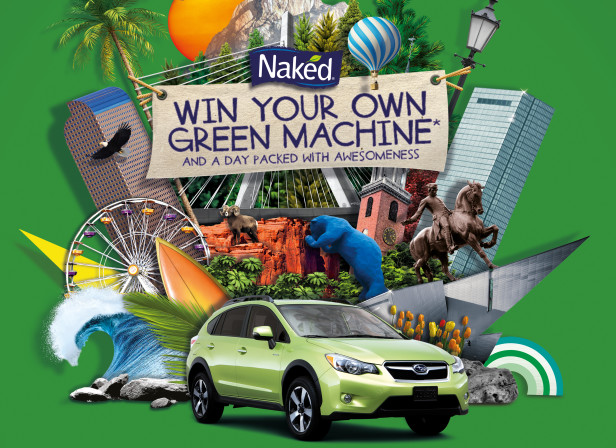 Win Your Own Green Machine / Naked Juice USA