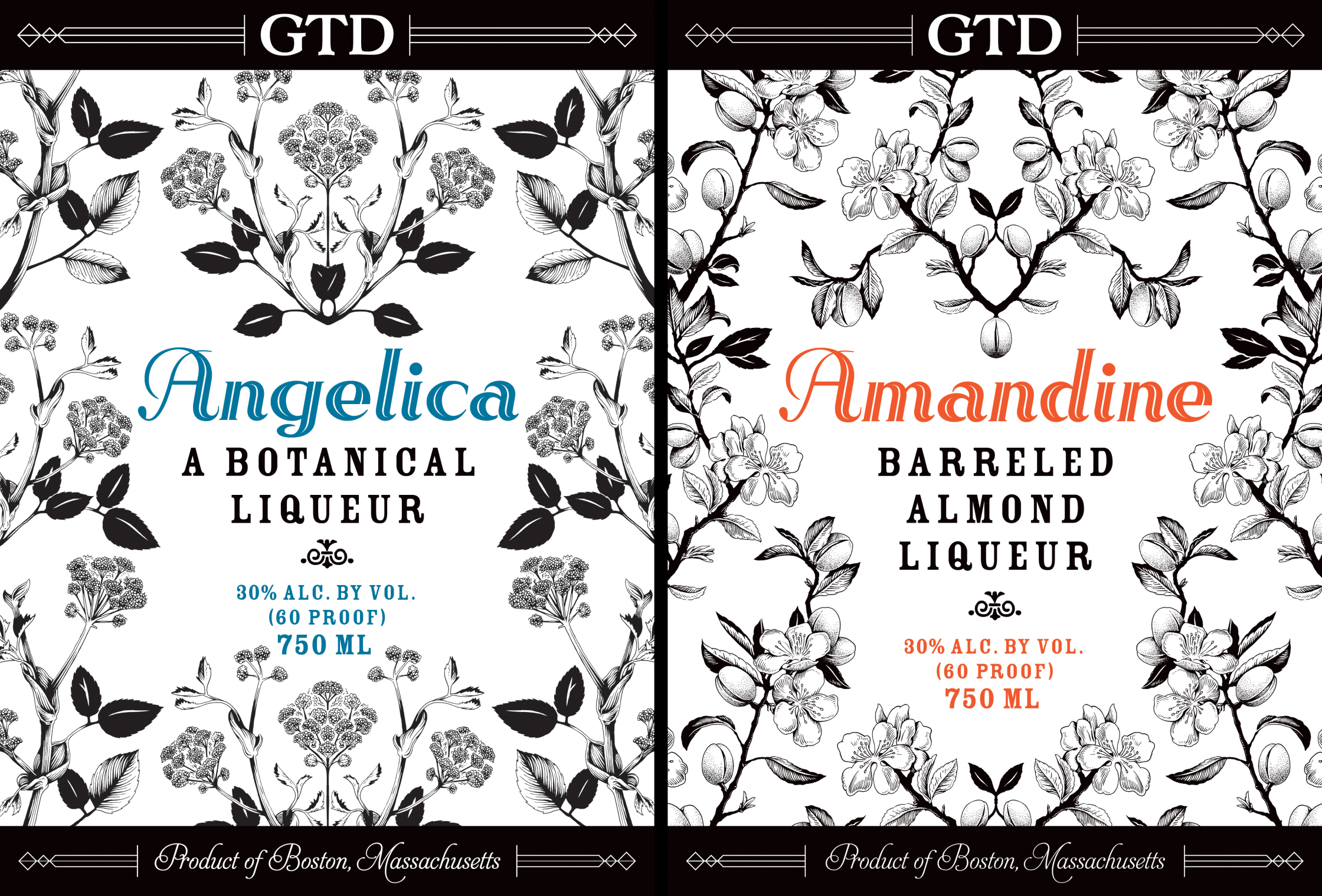 Liqueur Labels