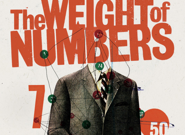 The Weight of Numbers - Simon Ings Cover