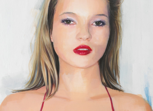 Kate Moss Portrait