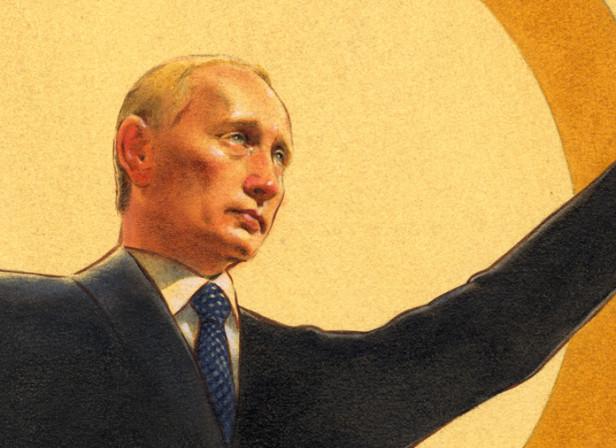 Putin / The Telegraph