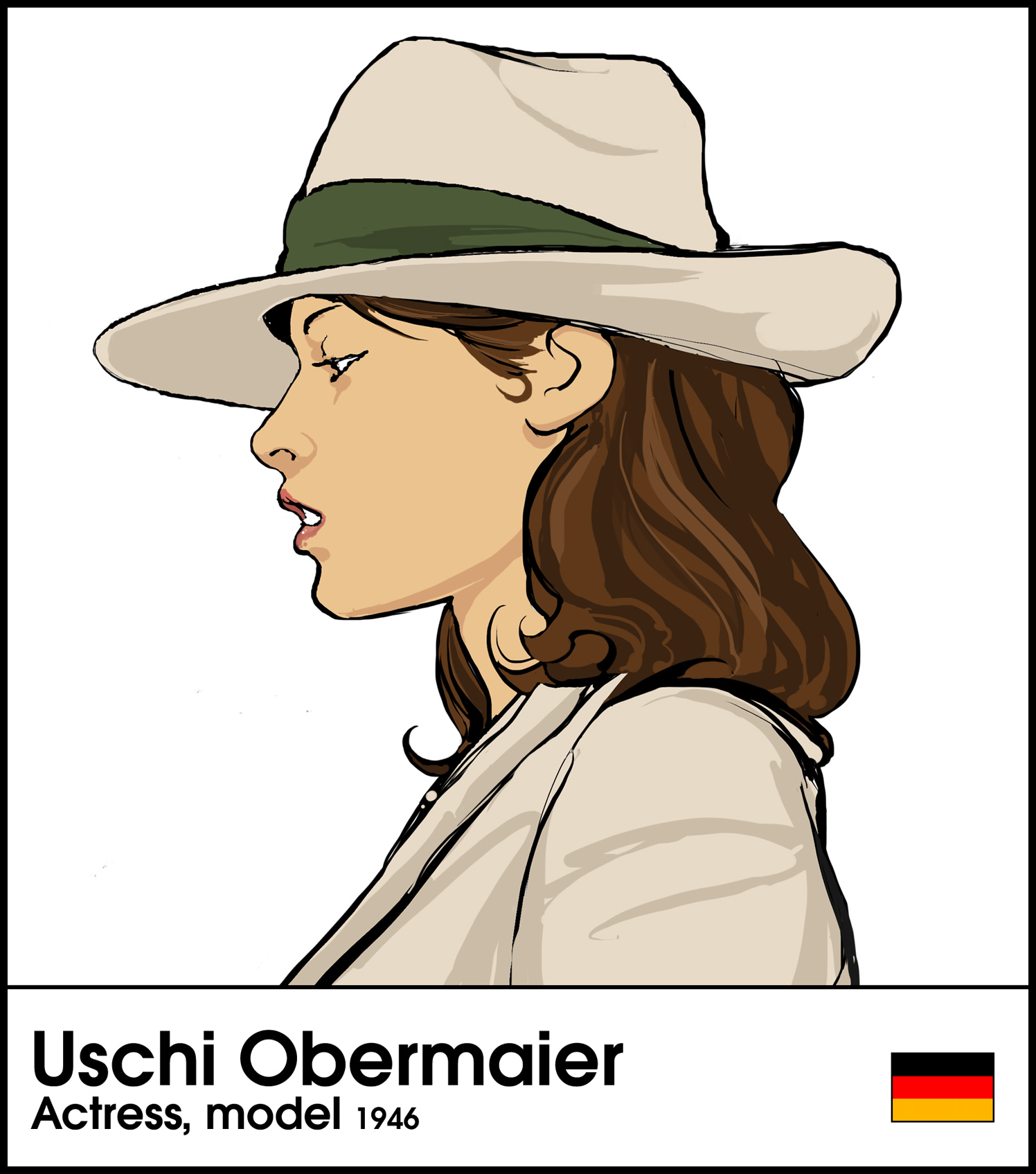 Uschi Obermaier Actress 1946