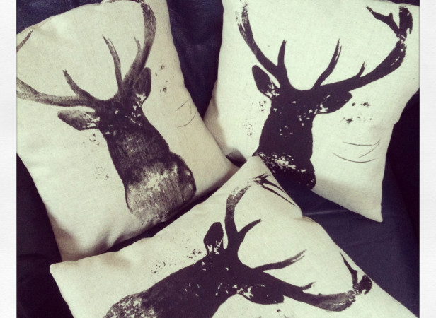 Deer Cushions
