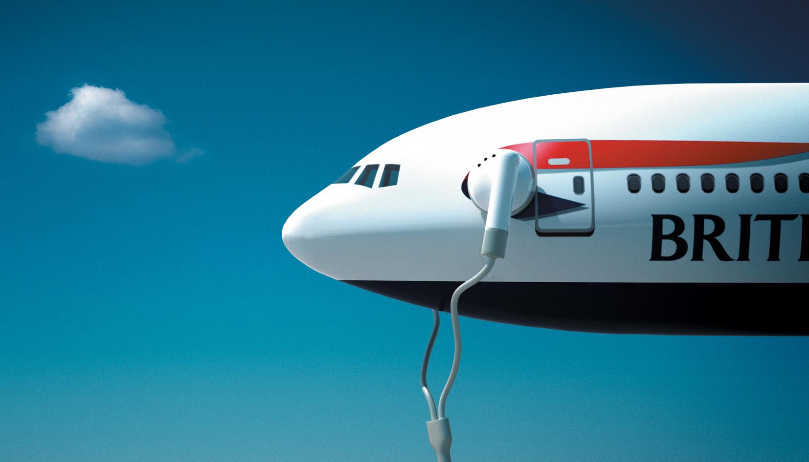 British Airways / Ipod