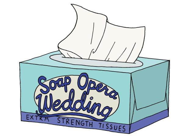Soap Opera Wedding / Mothercare