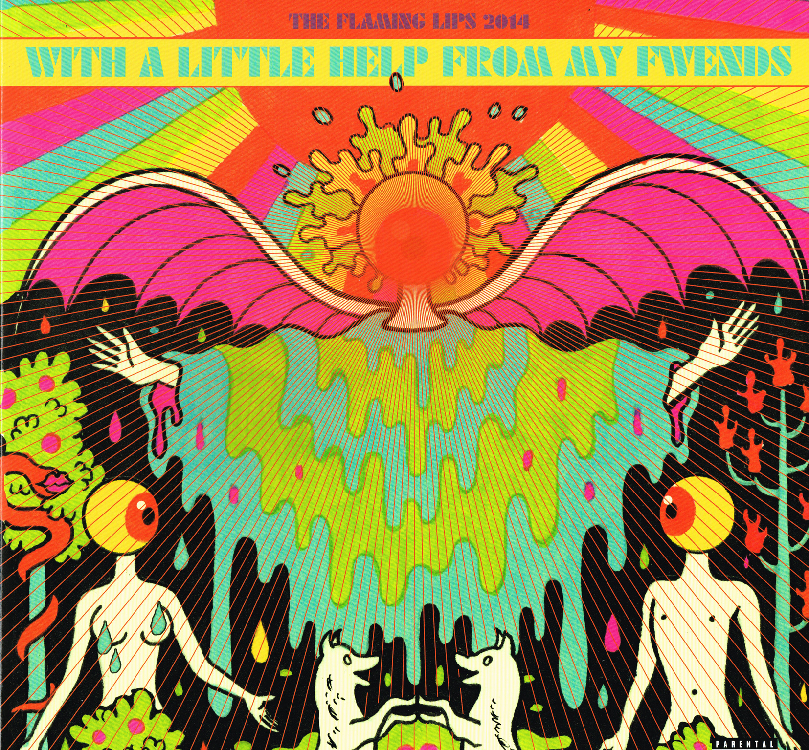 With A Little Help from My Fwends / The Flaming Lips