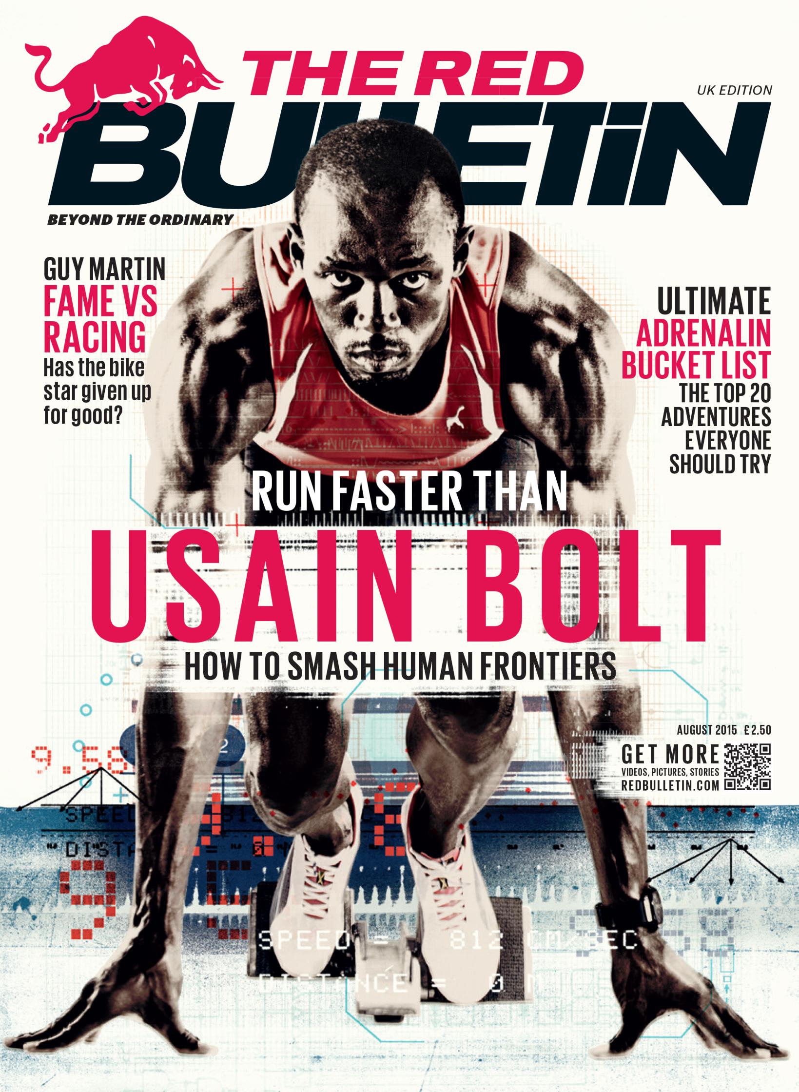 Run Faster Than Usain Bolt /  The Red Bulletin