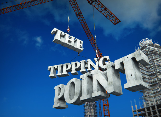 The Tipping Point 3D Type Cranes Building Construction Inside Housing Magazine