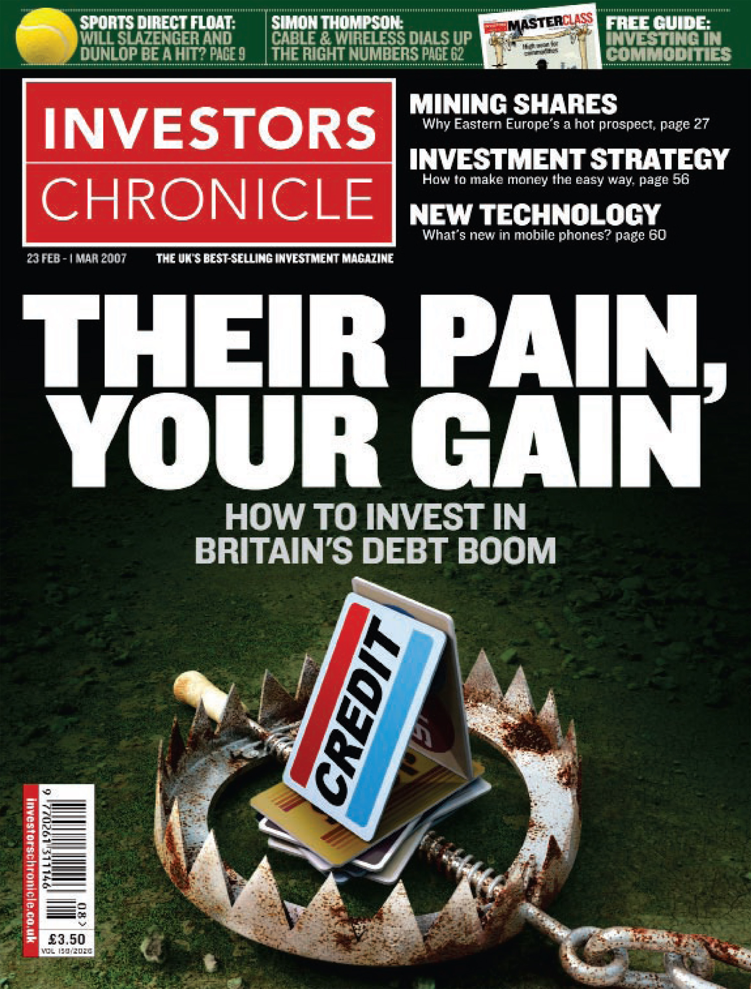 Their Pain, Your Gain / Investors Chronicle