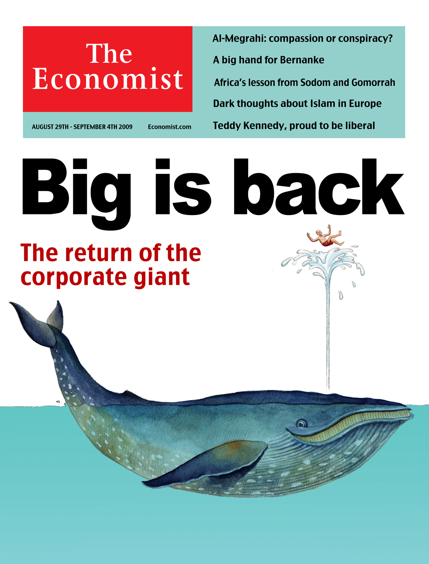 Big Is Back / The Economist