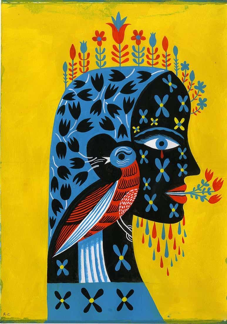 Woman and Bird.JPG
