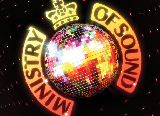 Ministry Of Sound Glitterball Logo