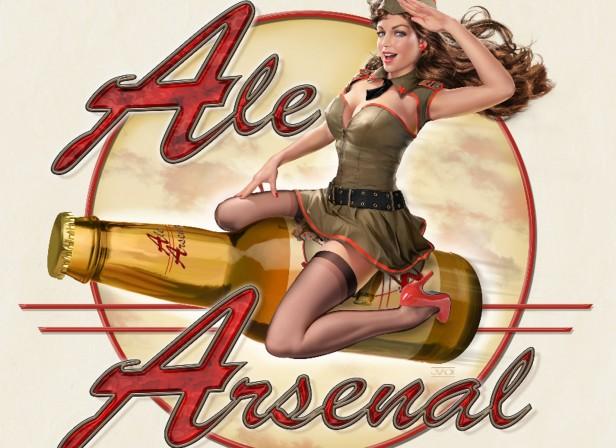 Ale Arsenal Pin-Up