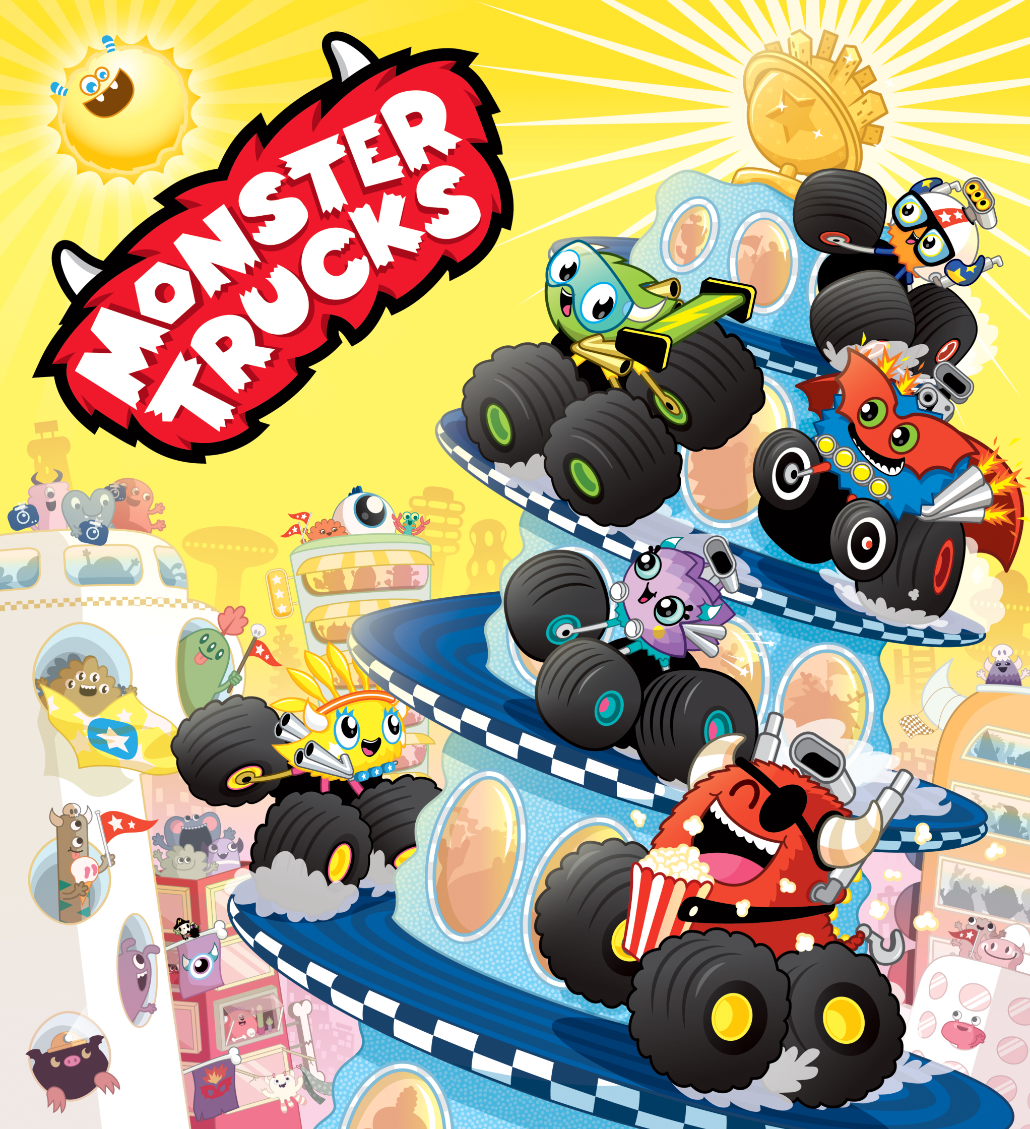 Scholastic Monster Trucks Mega City Cup 1