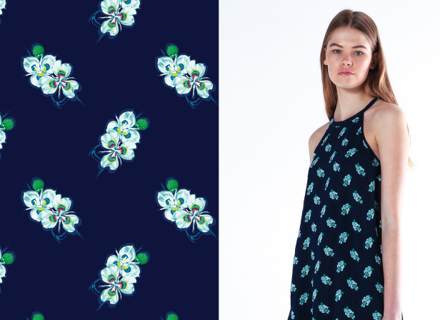 BLAK Resort 15/16 Floral Repeat
