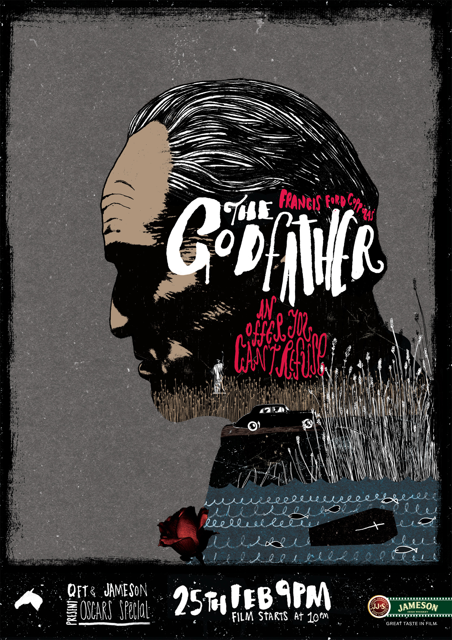 The Godfather Jameson's Poster