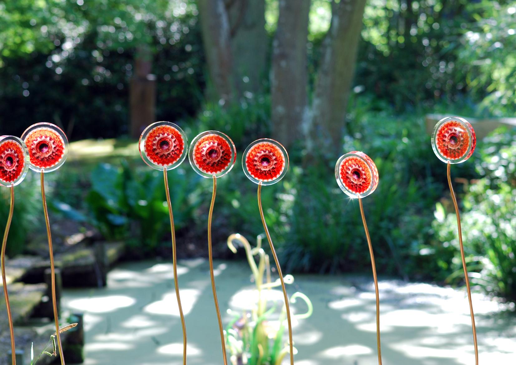 Resin Flowers Hannah Peschar Sculpture Garden