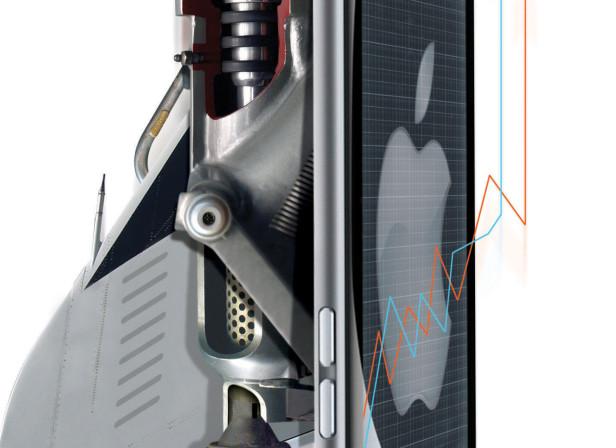 Apple Stock iPhone Rocket WS Journal