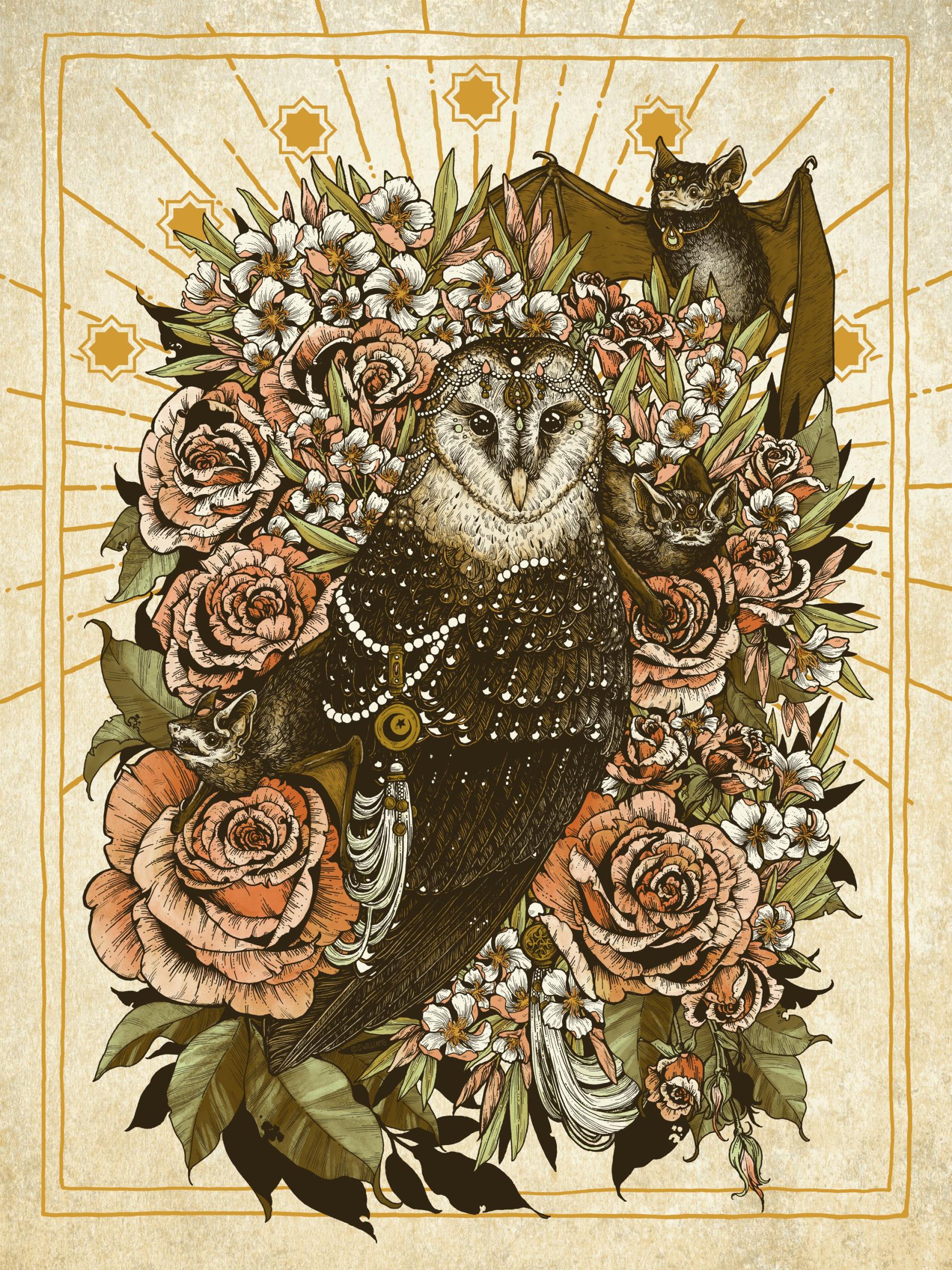 American Poster Institute - SXSW - Flatstock 59 - Peace be Upon You Art Print - Erica Williams_Seps.jpg