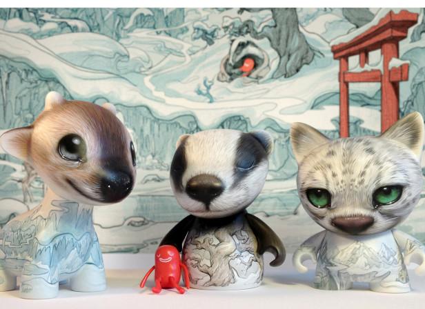 Snow Creatures custom KidRobot toys SHP2.jpg