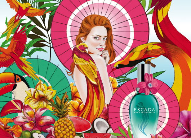 Born In Paradise / Escada