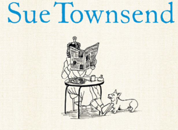 Sue Townsend Cover - The Queen And I