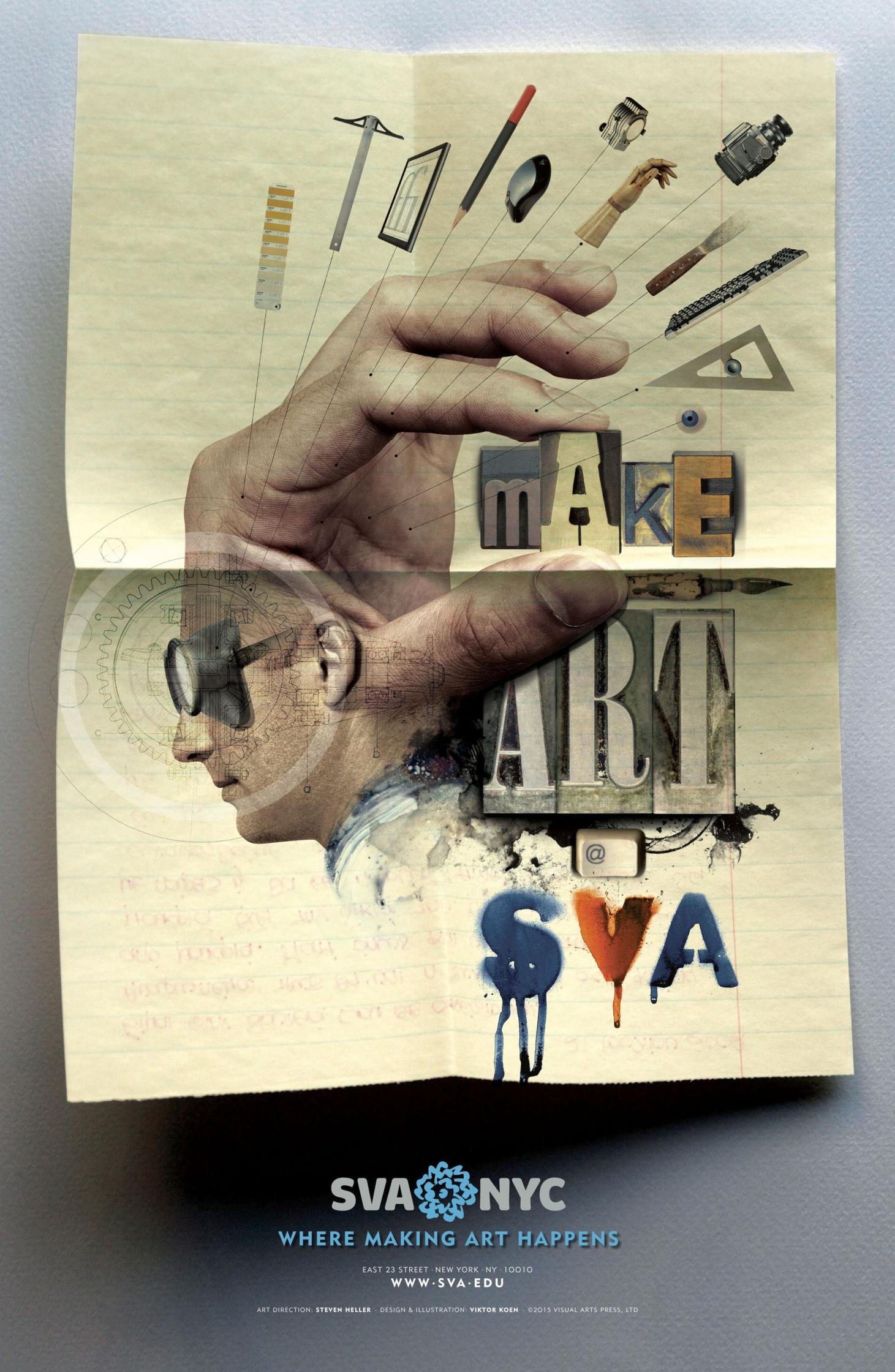 Make Art Poster 2 SVA
