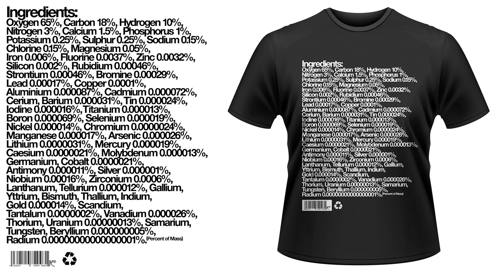 Ingredients T-Shirt