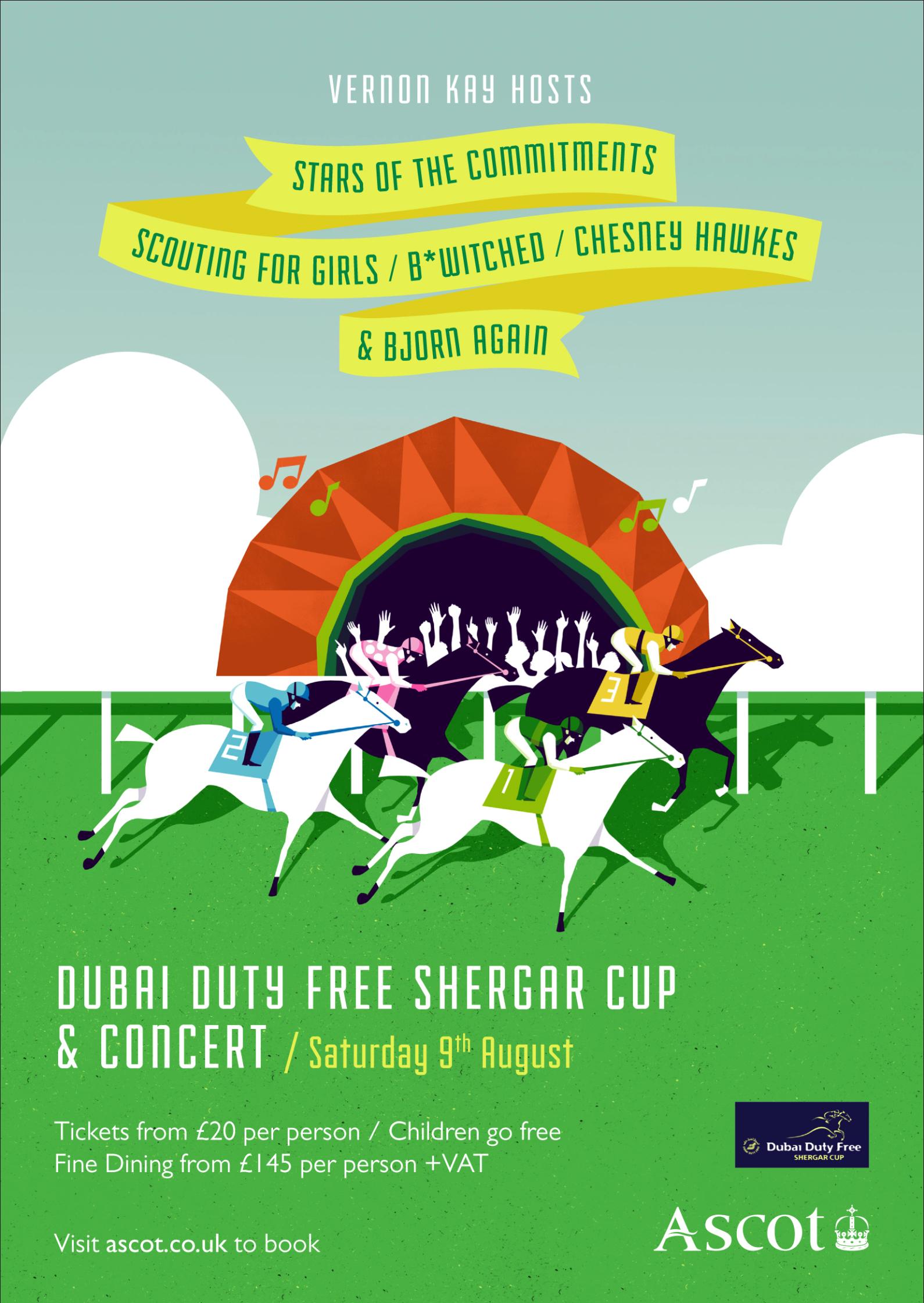 Shergar Cup Poster