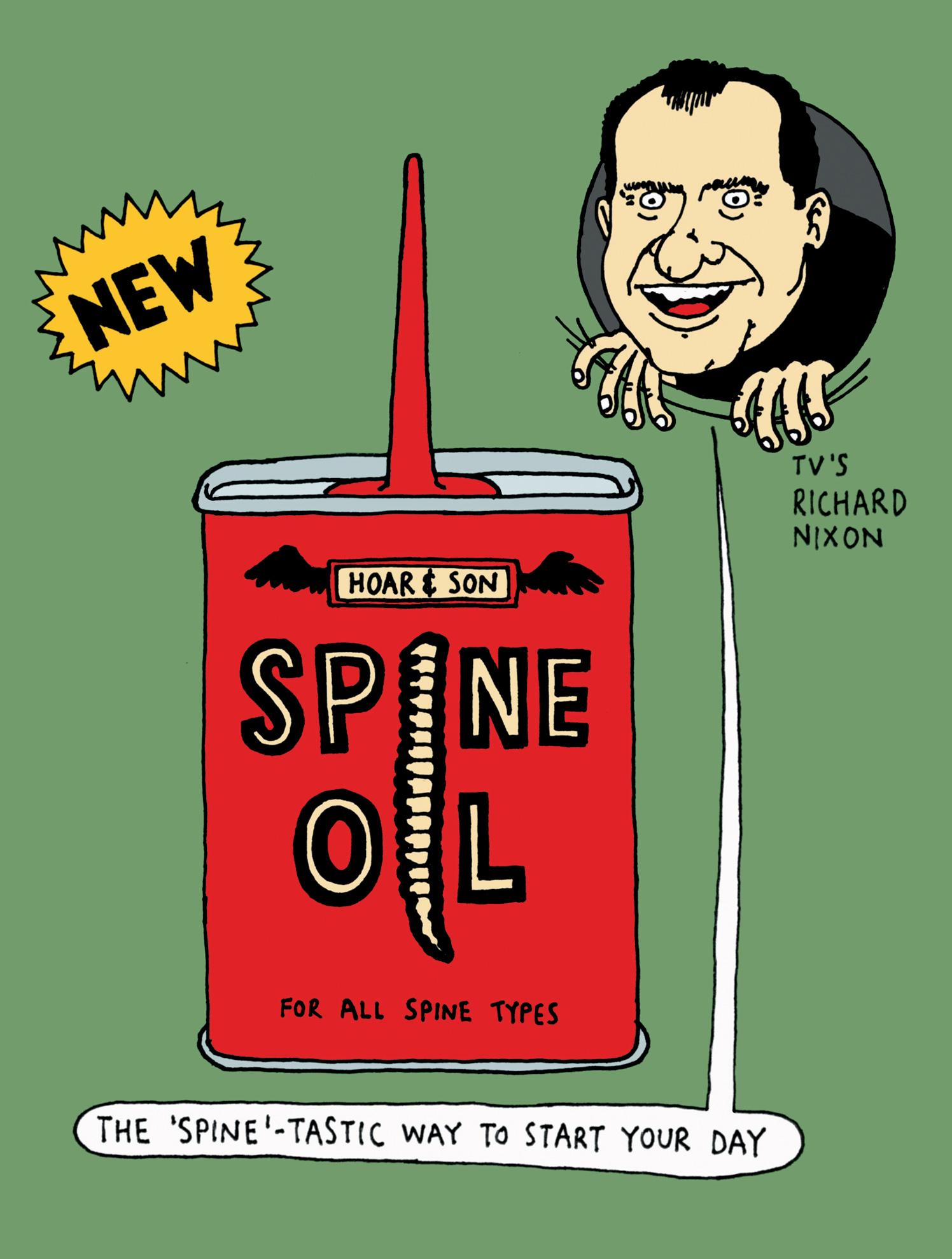 R. Newbold Spine Oil