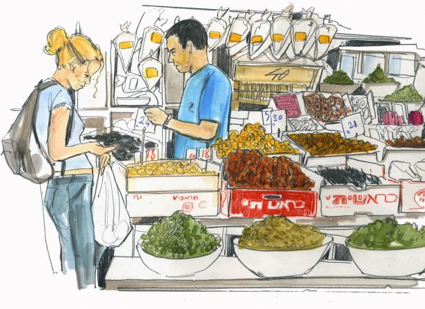 Yottam Ottolenghi Jerusalem Food Market / Conde Nast